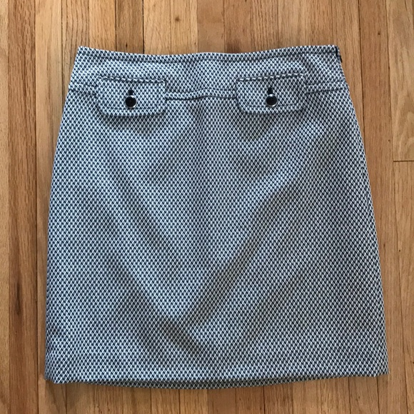e011b573ca LOFT Skirts | Ann Taylor Black And White Skirt | Poshmark